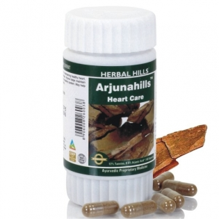 Herbal Hills Arjunahills Cardiac Care capsules