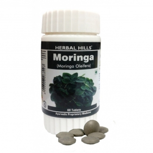 Herbal Hills Organic Moringa Tablets