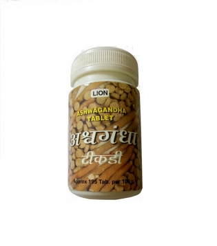 Lion Ashwagandha Tablets