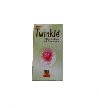 Khojati Twinkle Herbal Eye Drops With Rose Extracts
