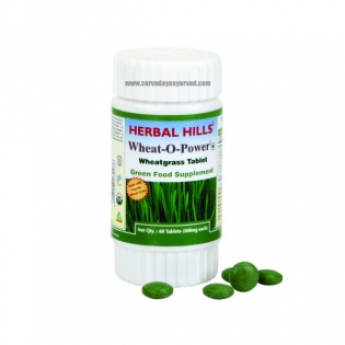 Herbal Hills, WHEAT-O-POWER, Tablet
