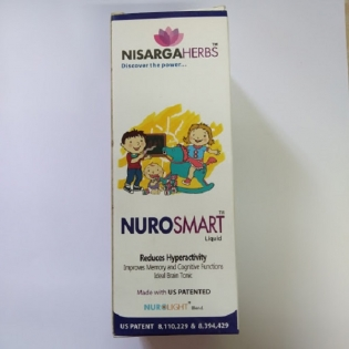 Nisarga Herbs Neuro Smart liquid