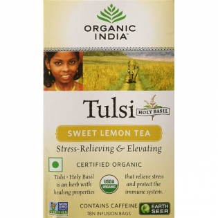 Organic India Tulsi Sweet Lemon