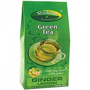 Rinkup Green / Herbal Tea - Ginger & Lemon Tea