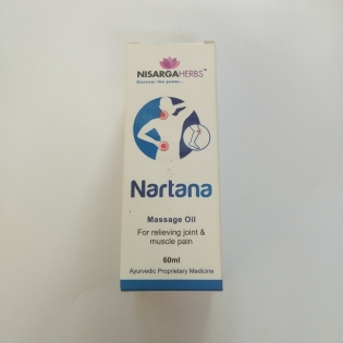 Nisarga Herbs Nartana Oil