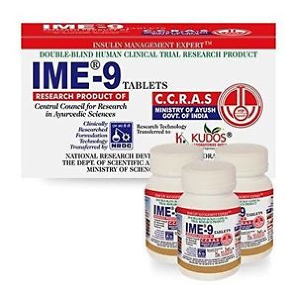 Kudos IME-9 Tablets (For Diabetes)